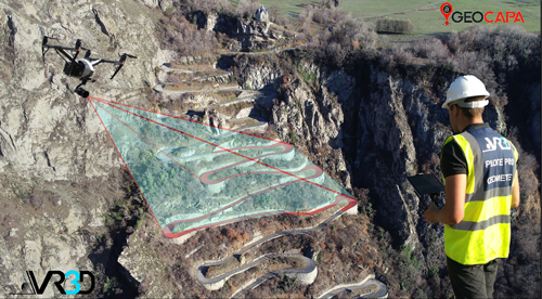 cartographie amiante par drone